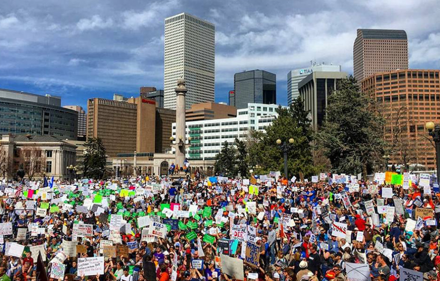 March for our Lives rally in Denver