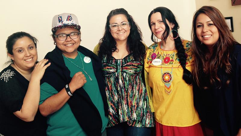 Indigenous  Youth  RiseUp! leaders