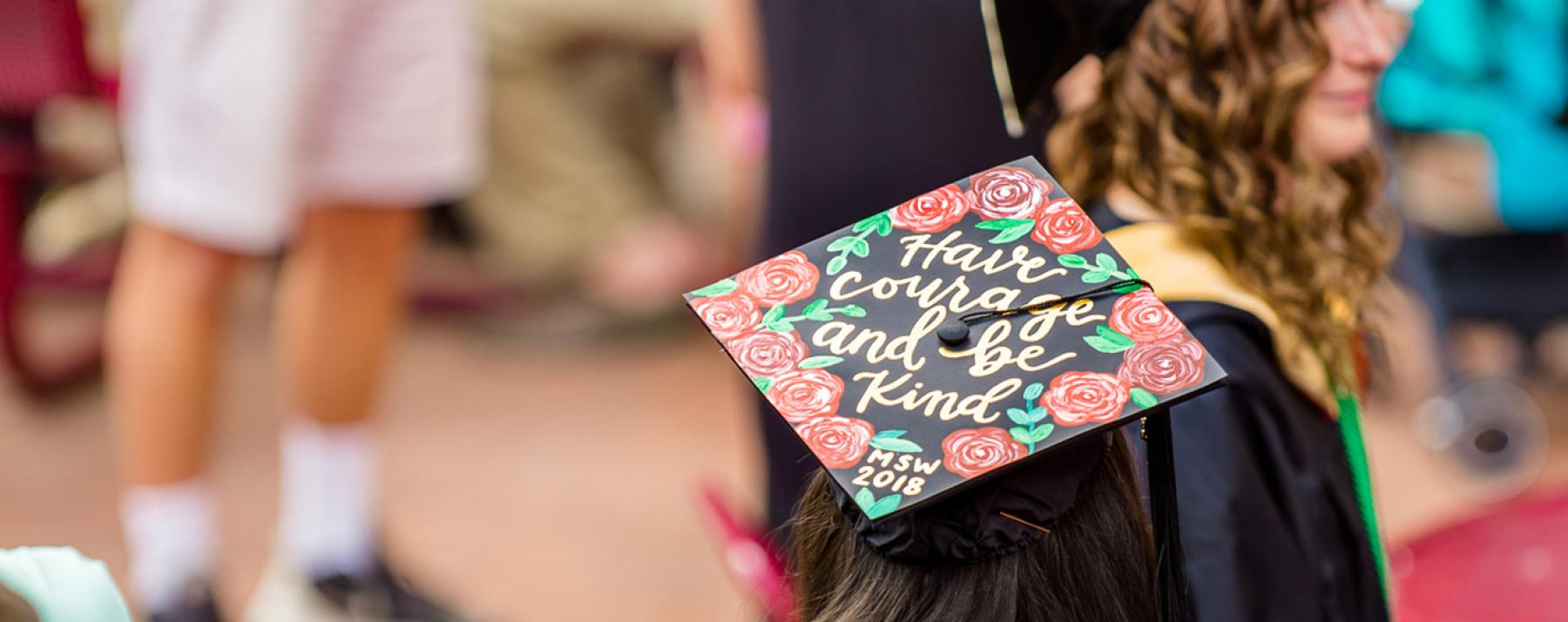 decorated graduate cap
